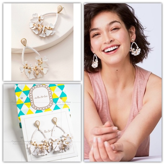 Stella & Dot Jewelry - Stella and Dot Cynthia Drop Earrings